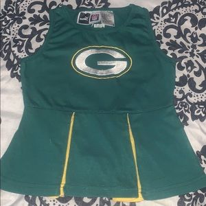 Green bay packers dress 24 months old